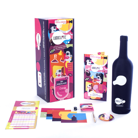 Juego de vino Tutti Frutti GOURMET