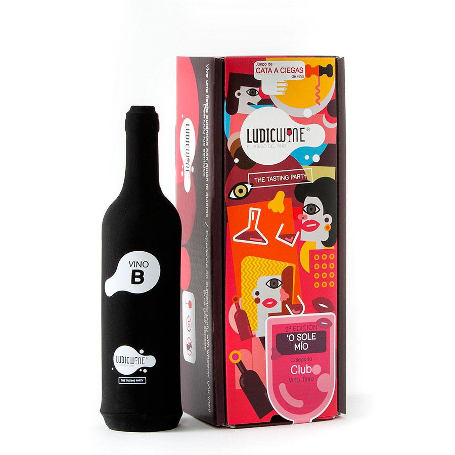 Juego de vino O Sole Mío Vino B CLUB, 2ª Edic.