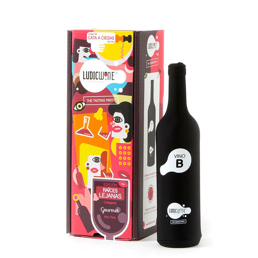 Juego de vino Raíces Lejanas Vino B GOURMET, 3ª Edic.