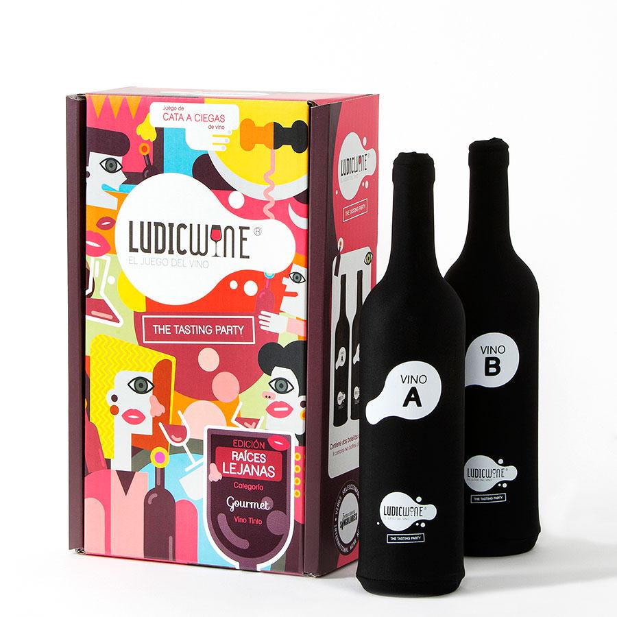 Juego de vino Raíces Lejanas GOURMET, 3ª Edic.